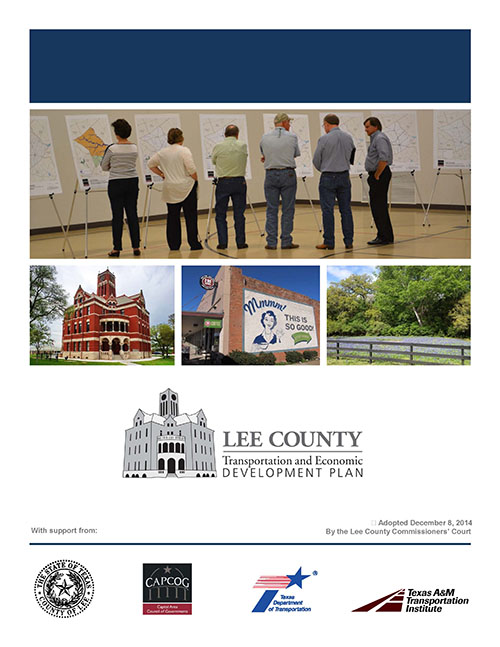 Click to read the Lee County Transportation and Economic Development Plan