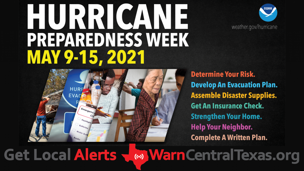 Click to get more information about the National Hurricane Preparedness Week campaign and download the campaign images.